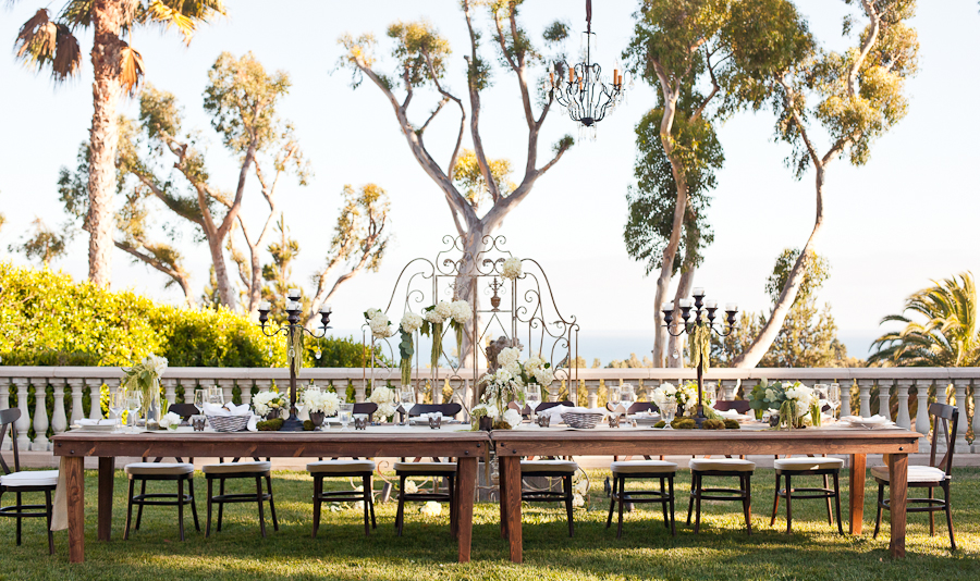 Malibu Private Estate ~ Lindsay + Amber ~ Featured on Style Me Pretty