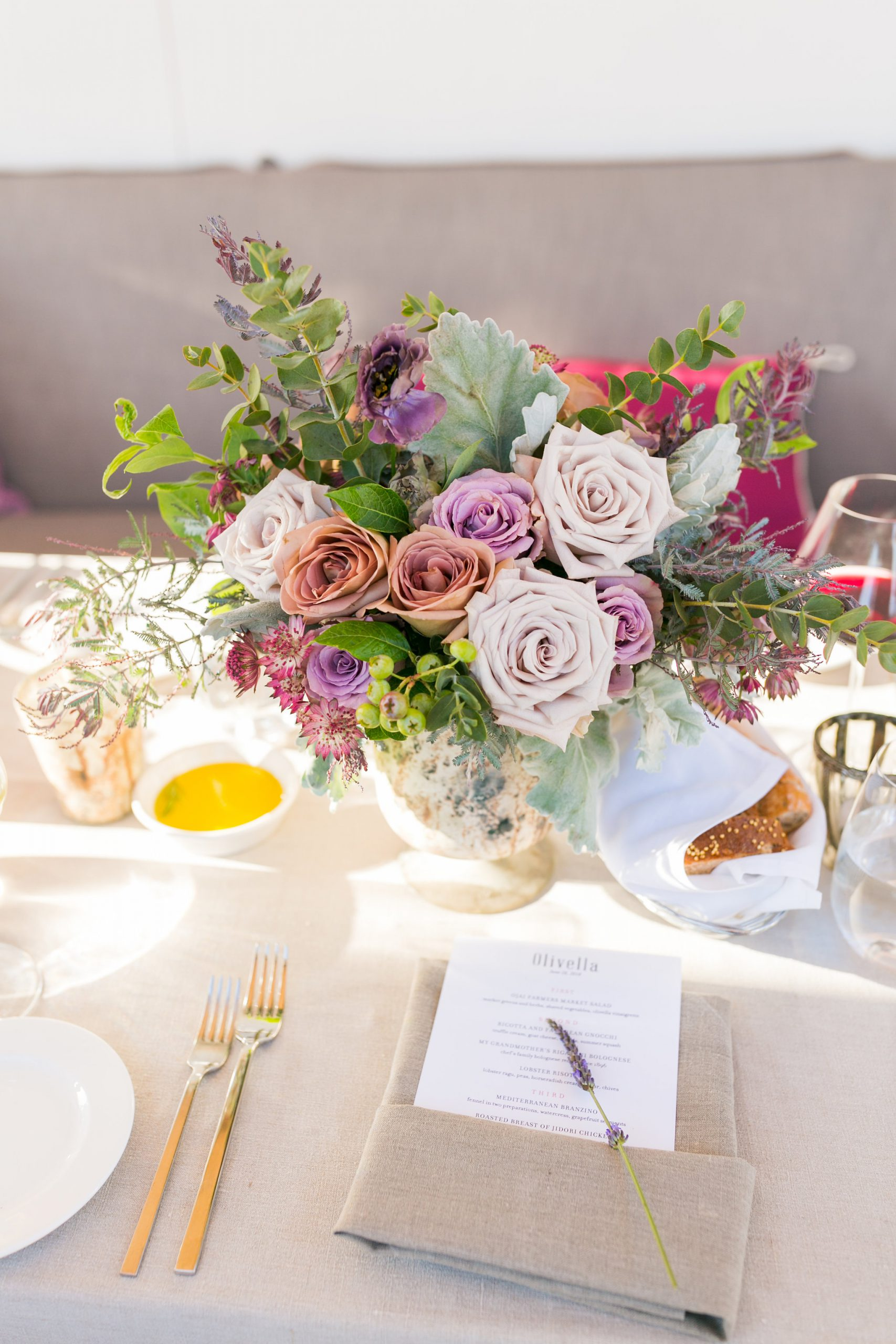 Ojai Valley Inn, Olivella Rehearsal Dinner - XOXO BRIDE Events